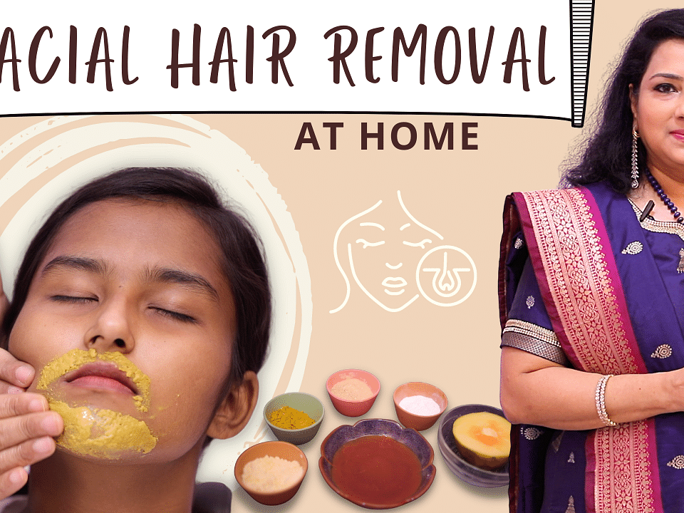 How to Remove Upper Lip Hair Naturally at Home? | 100% Effective Remedy | Vasundhara Tips | Say Swag