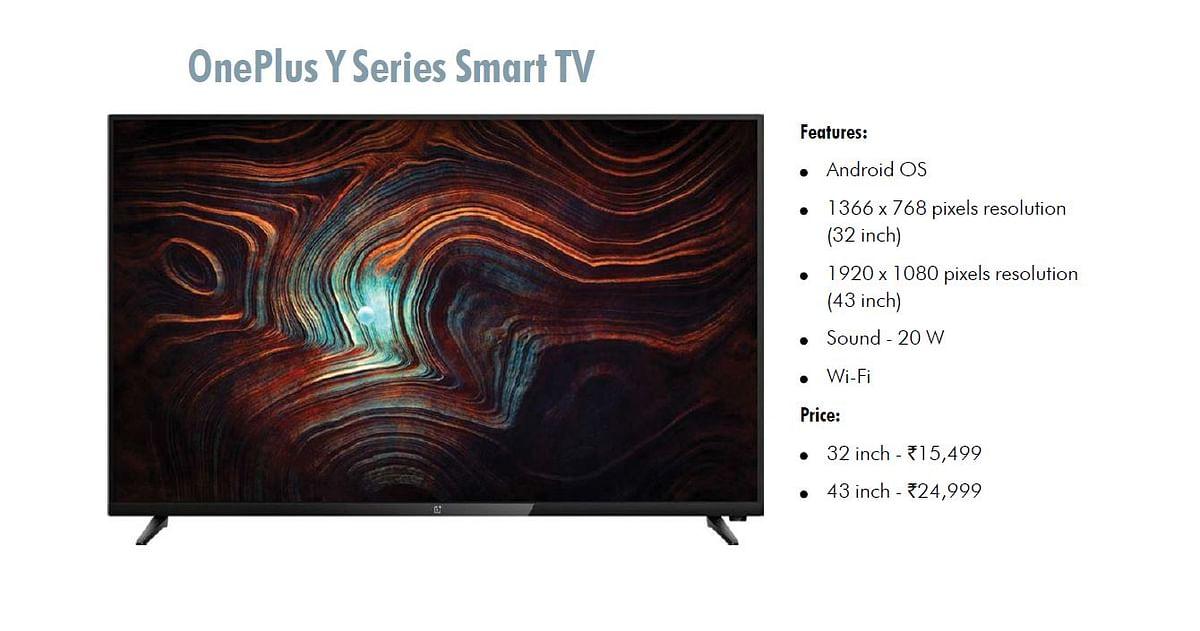 OnePlus Y Series Smart TV