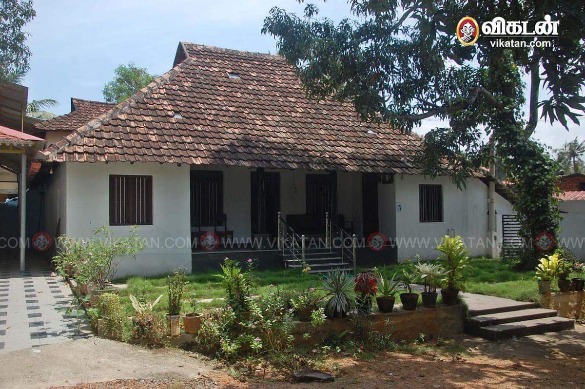 டி.ஜி.பி சைலேந்திரபாபு-வின் வீடு