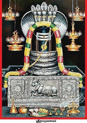 சிவலிங்கத் திருமேனி