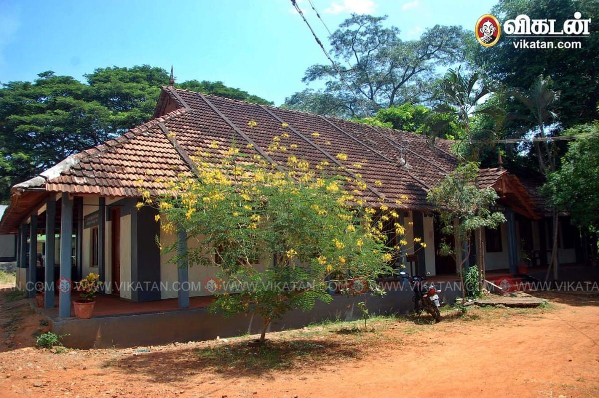 சைலேந்திரபாபு படித்த விளவங்கோடு அரசுப் பள்ளி