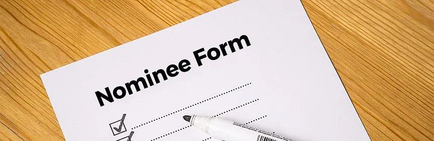 Nominee Form - Representational Image