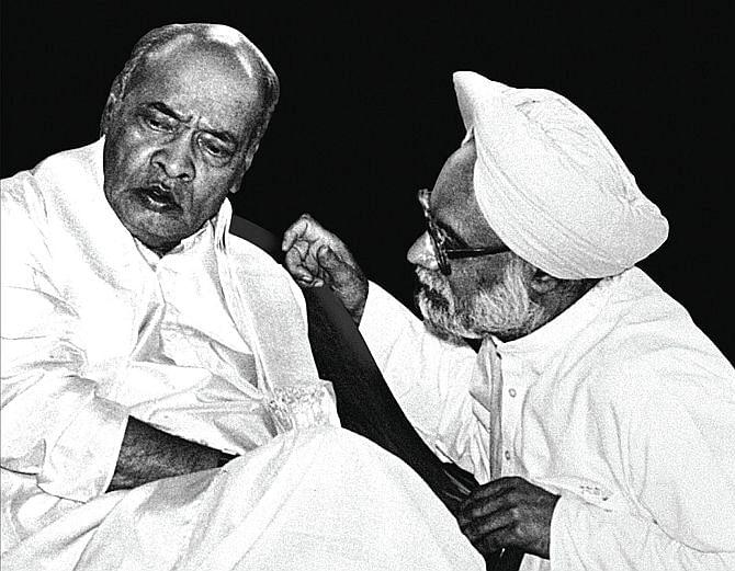 நரசிம்ம ராவ்; மன்மோகன் சிங்