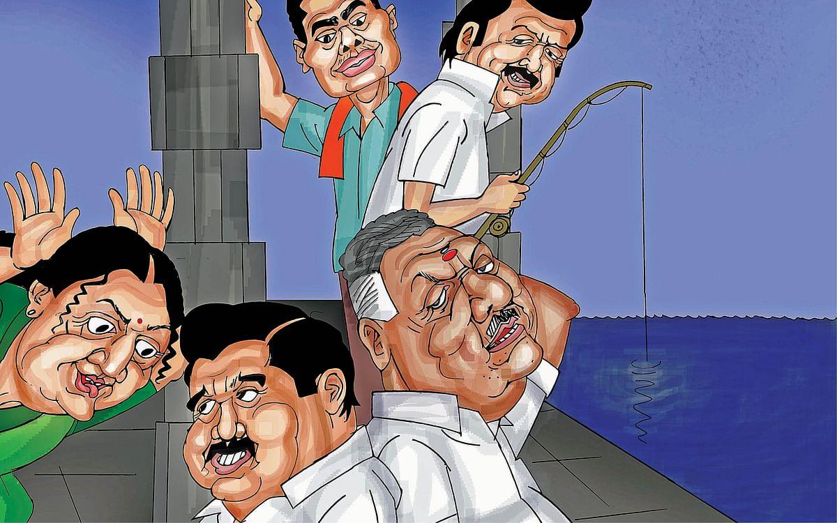 பா.ஜ.க ஸ்கெட்ச்... தி.மு.க ரெய்டு... சசிகலா டார்ச்சர்... திண்டாடும் அ.தி.மு.க!
