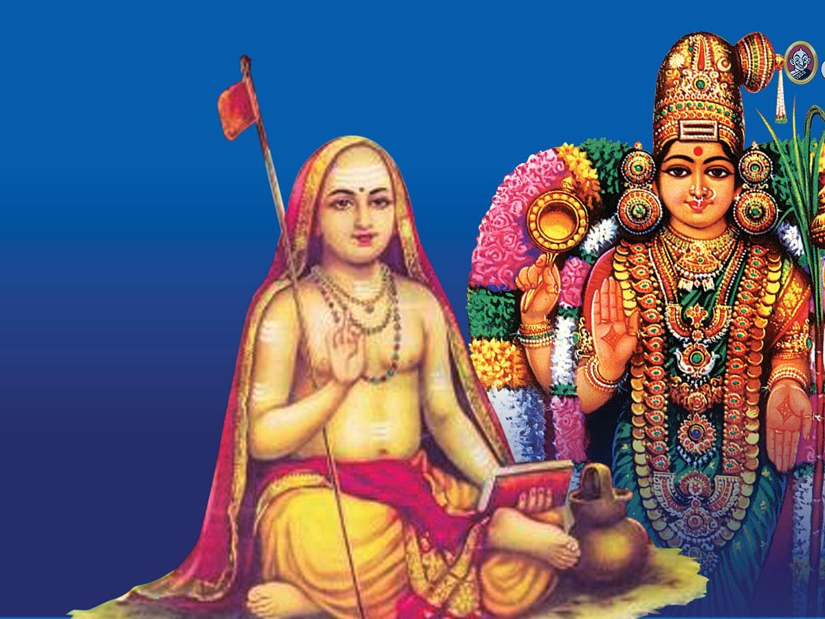 அம்பிகையை ஆராதித்த ஆதிசங்கரர்!