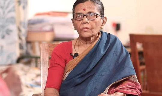 ஐஐடி மெட்ராஸ் முன்னாள் பேராசிரியை வசந்தா கந்தசாமி
