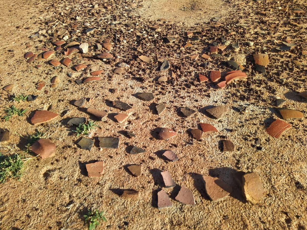 பழங்கால பொருள்கள் கண்டெடுப்பு
