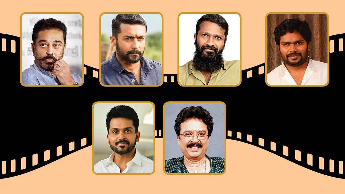 கமல், சூர்யா, வெற்றிமாறன், ரஞ்சித், கார்த்தி, எஸ்.வி.சேகர்