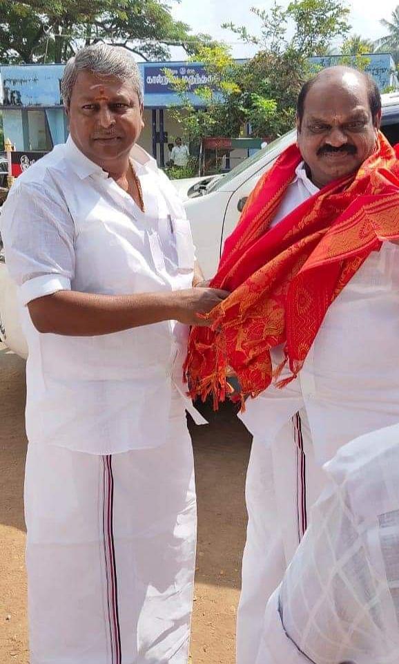 துரை.செந்தில் -  வைத்திலிங்கம்