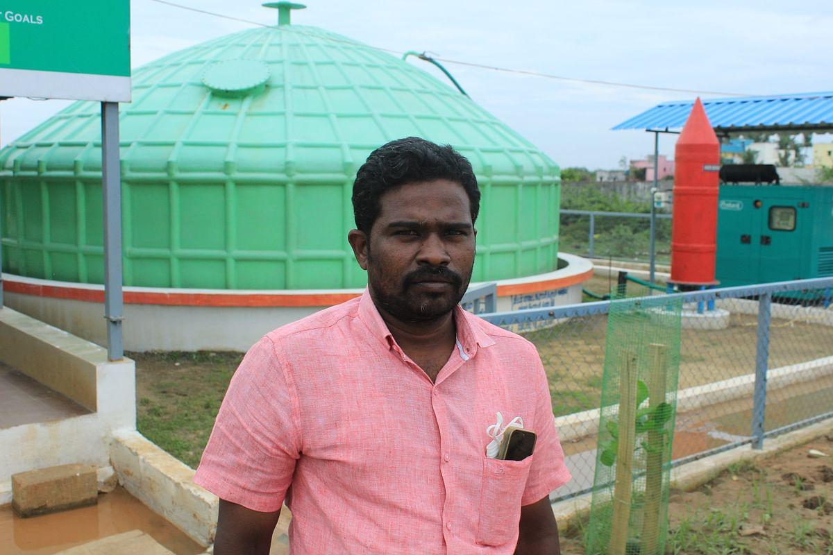 வரதராஜபுரம் ஊராட்சித் தலைவர் கலையரசு