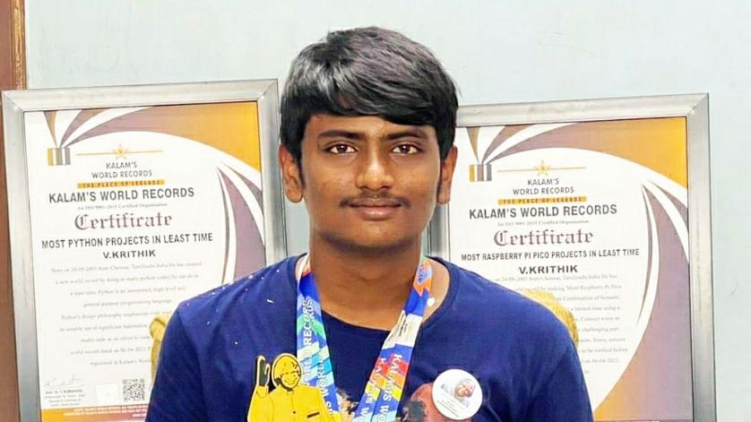 Young Achiever Krithik Vijayakumar