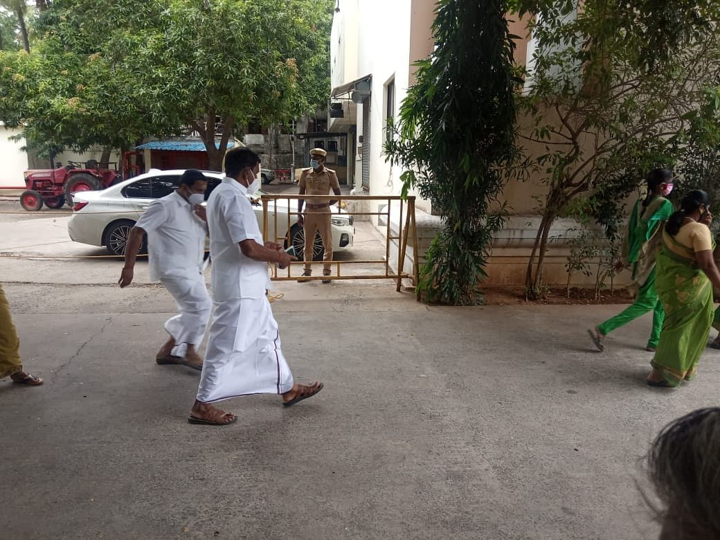 அறிவாலயத்தில் தோப்பு வெங்கடாசலம்