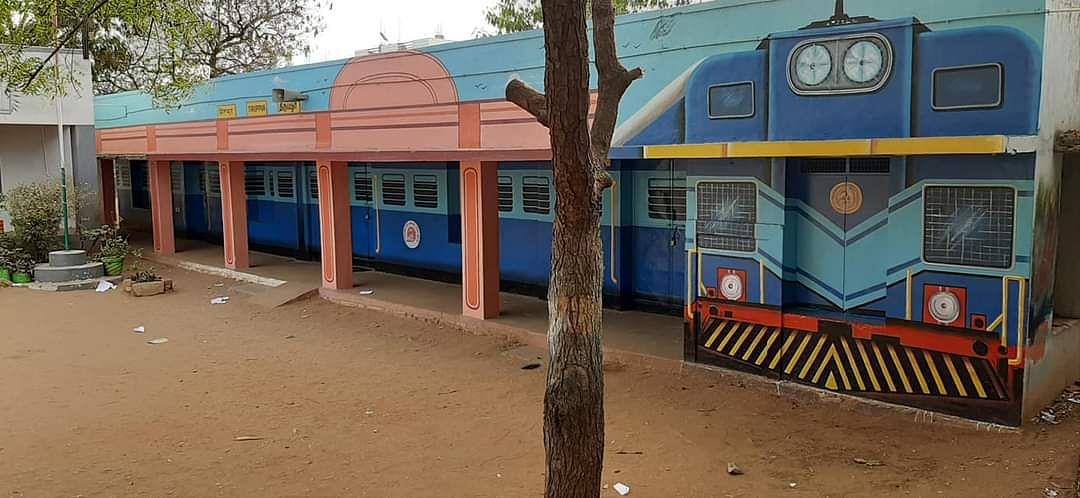 திருப்பூர் வடக்கு பூலுவபட்டி மாநகராட்சி துவக்கப்பள்ளி