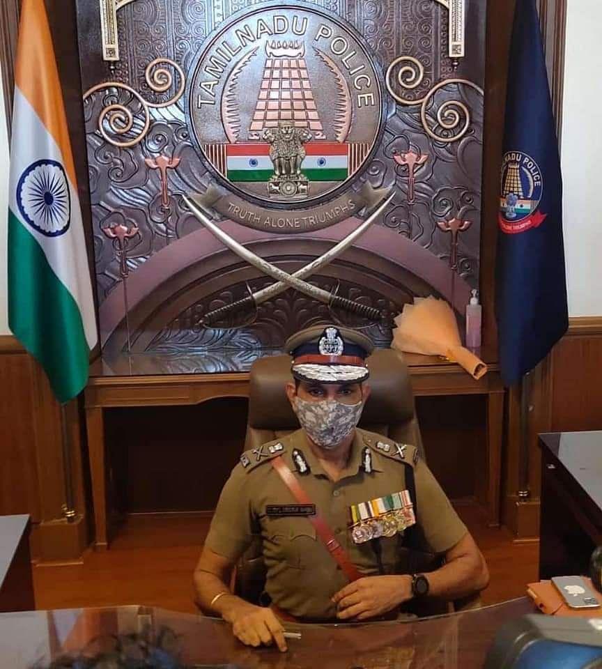 டி.ஜி.பி சைலேந்திரபாபு