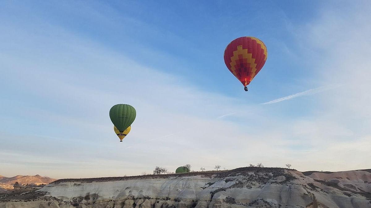 Hot Air Balloon ride in Cappadocia, Turkey.