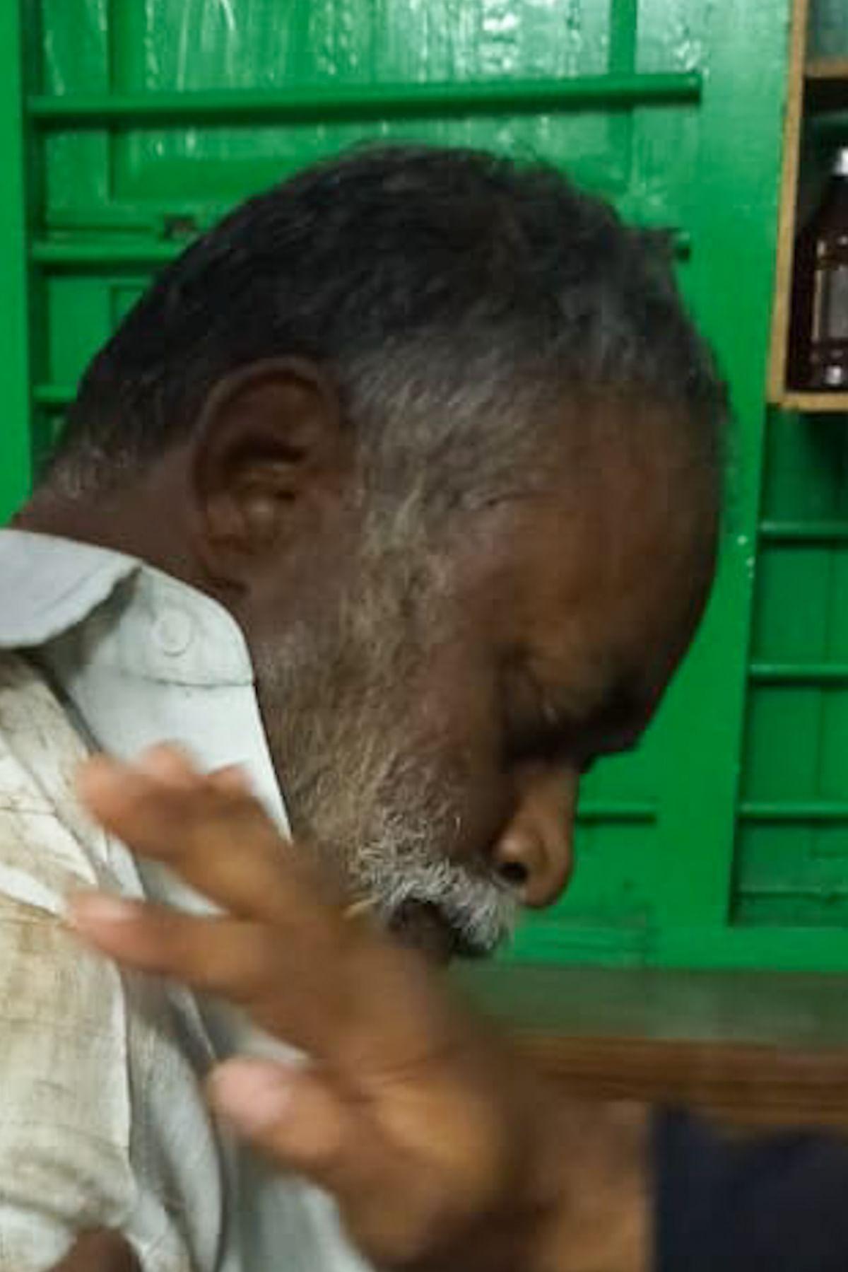 யானை தாக்கி உயிரிழந்தஇருதயராஜ்