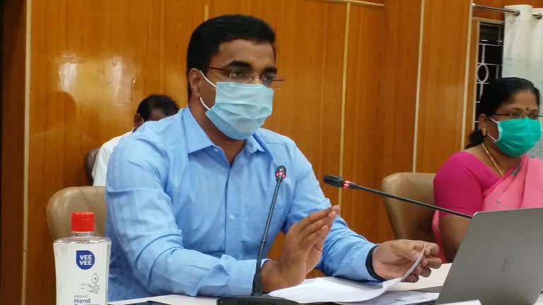 செந்தில்ராஜ் - மாவட்ட ஆட்சியர்