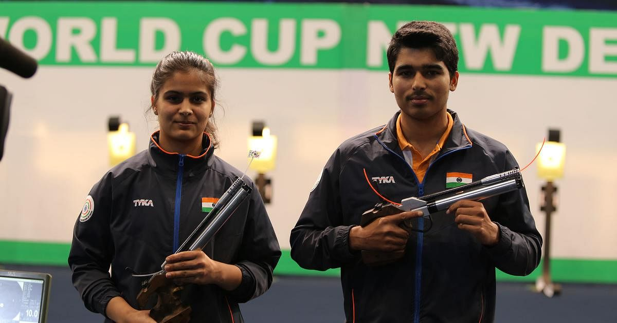 Manu Bhaker & Saurabh Chaudhary