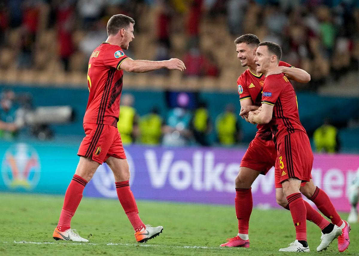 EURO 2020 | Belgium players