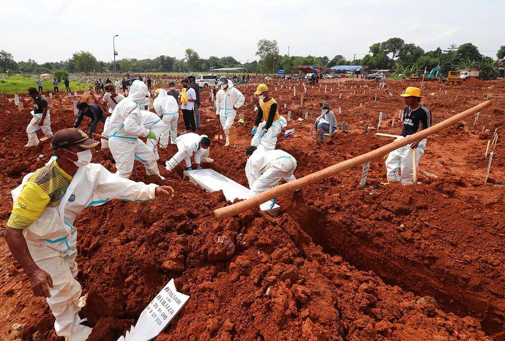 coronavirus outbreak in Bekasi, West Java, Indonesia