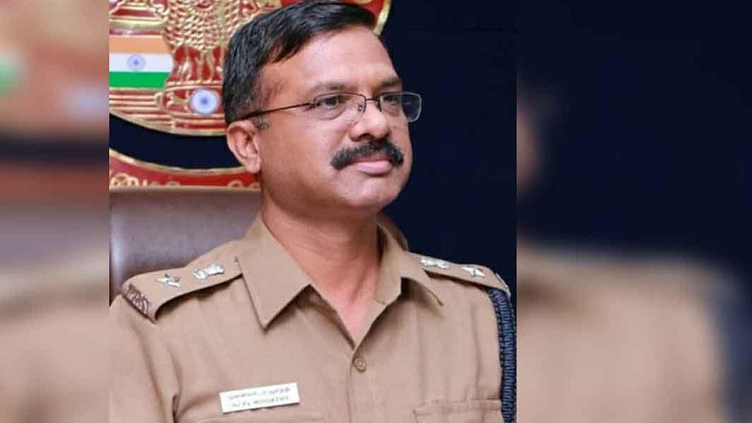 திருச்சி எஸ்.பி மூர்த்தி
