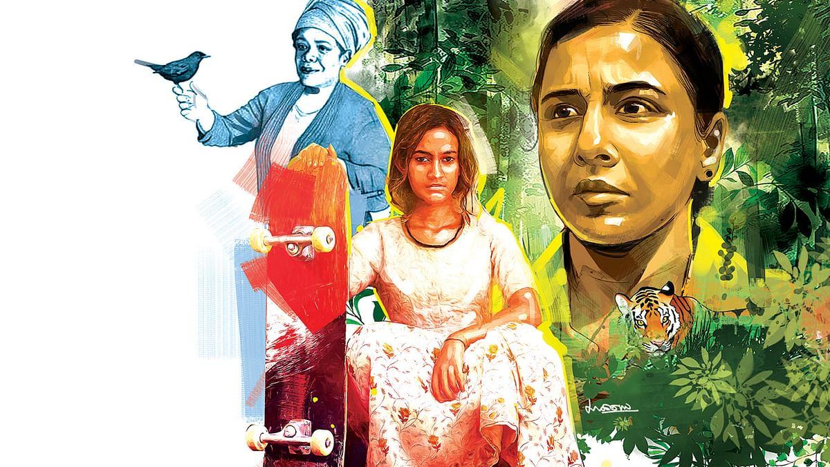 மாயா ஏஞ்சலோ,  ஸ்கேட்டர் கேர்ள்,  ஷெர்னி