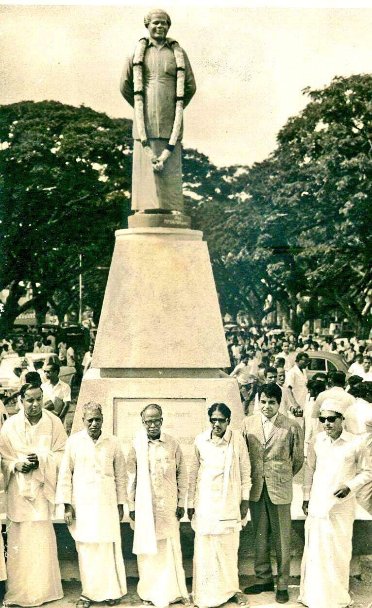 என்.எஸ்.கே சிலை திறப்பு விழாவில் திலிப் குமார்