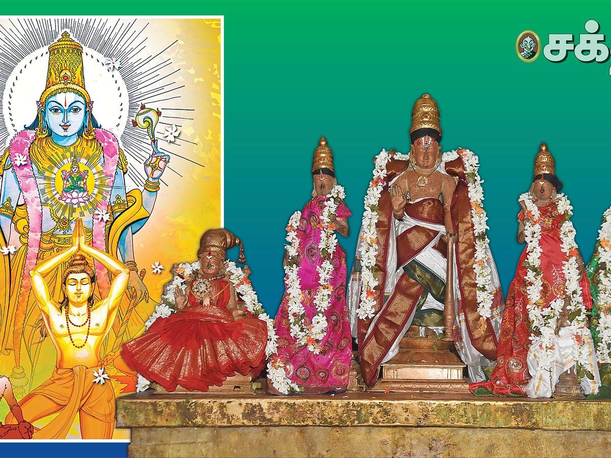 சனிக் கிரக தோஷம் தீர்க்கும் திருவிளநகர் வரதர்