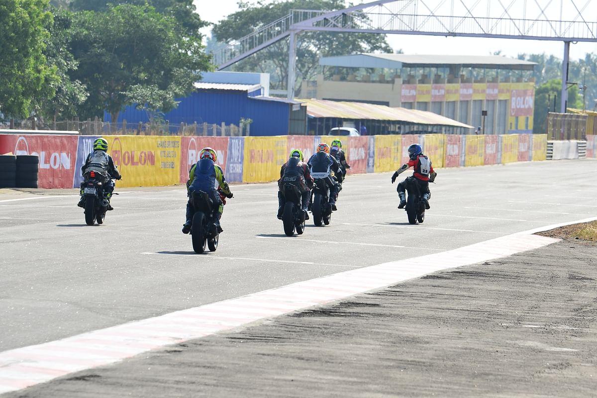 Marshals are the backbone of racing