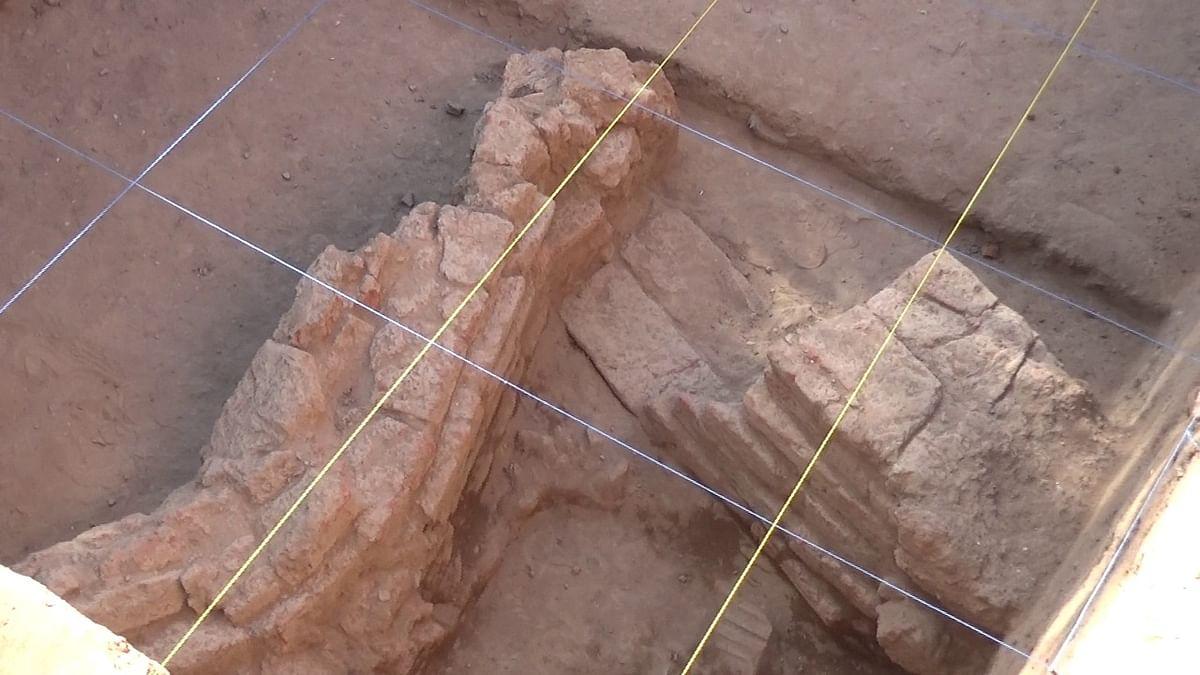 அகழாய்வில் கண்டுபிடிக்கப்பட்ட 7 அடுக்கு செங்கல் கட்டடம்