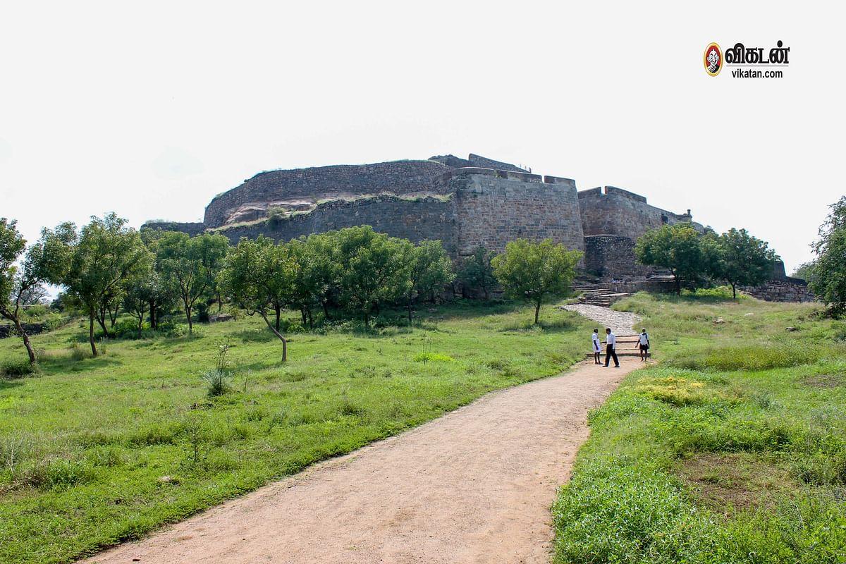 ரஞ்சன்குடி கோட்டை