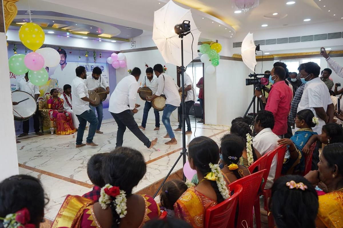 சீனிவாசன் - ஆஷா திருமணம்