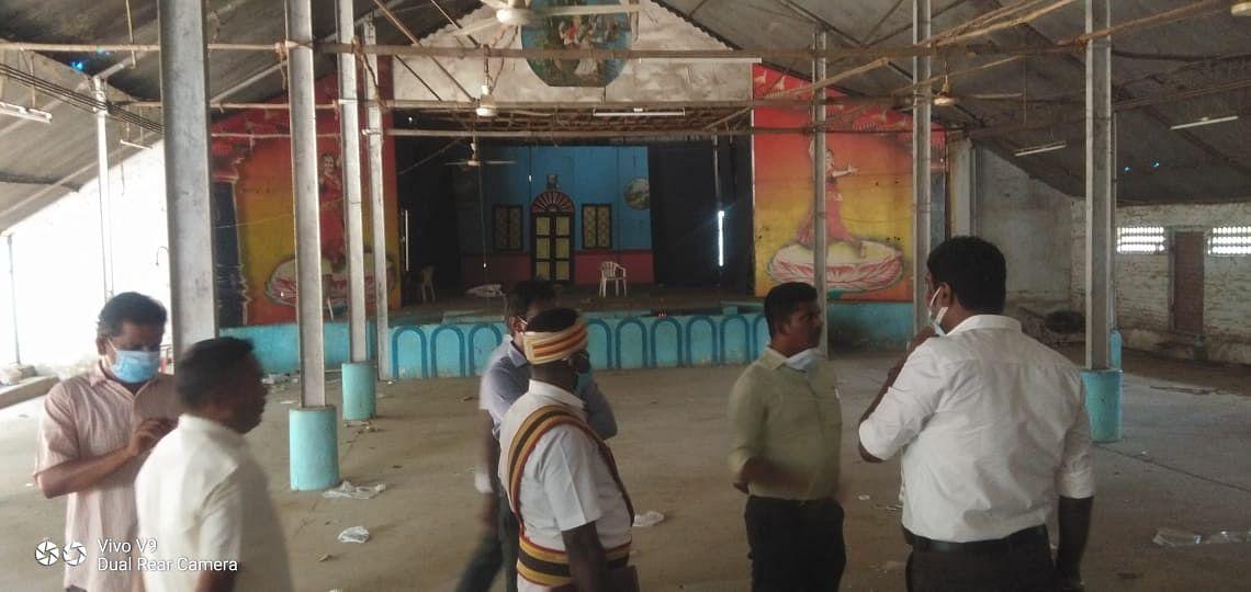 சபாவில் ஆய்வு செய்த அதிகாரிகள்