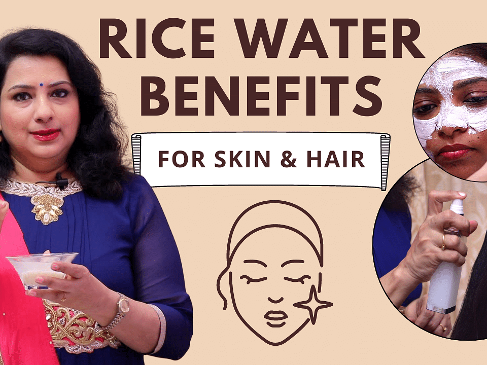 Rice Water Face pack