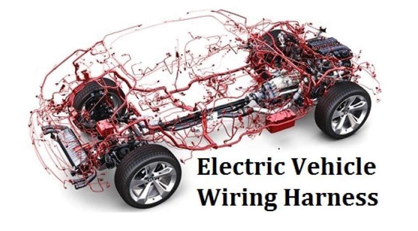 EV wiring harness – a typical representation