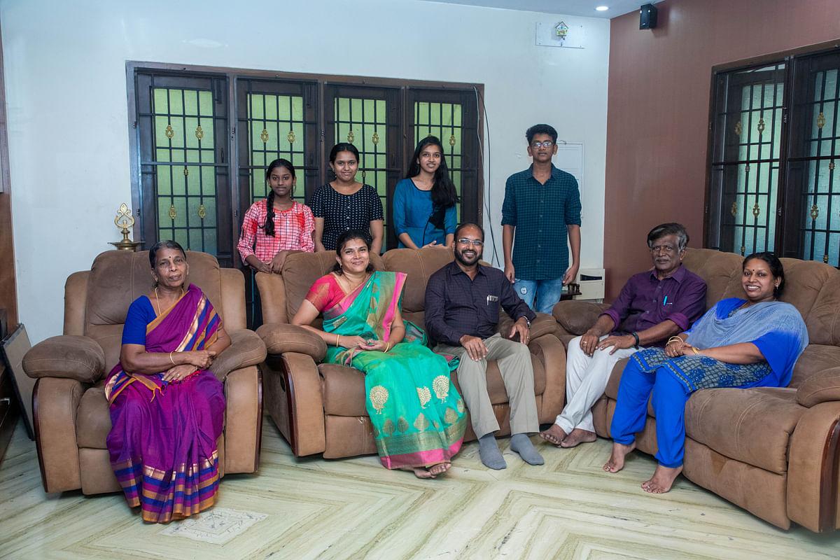 டாக்டர் ஜி.செந்தில்குமார் குடும்பம்