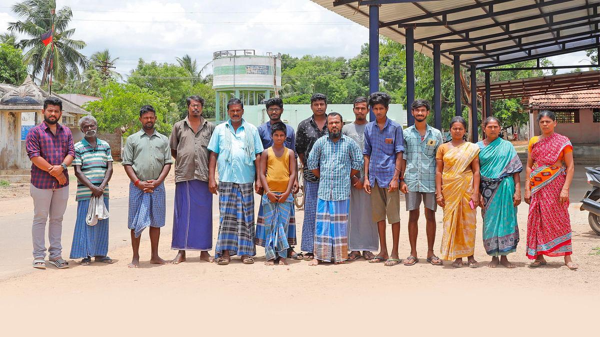 சோகத்தில் காவிரிக் கரையோர கிராம மக்கள்