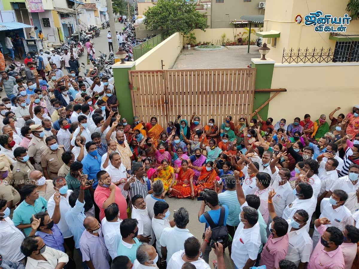எஸ்.பி. வேலுமணி வீடு