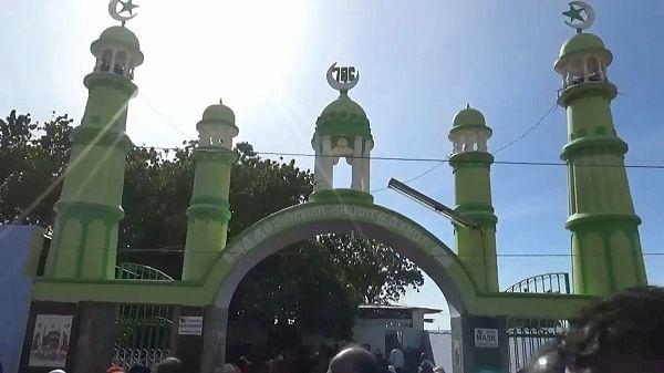 கந்தூரி விழா நடந்த தர்கா