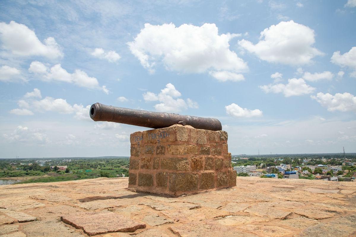 திருமயம் கோட்டை பீரங்கி