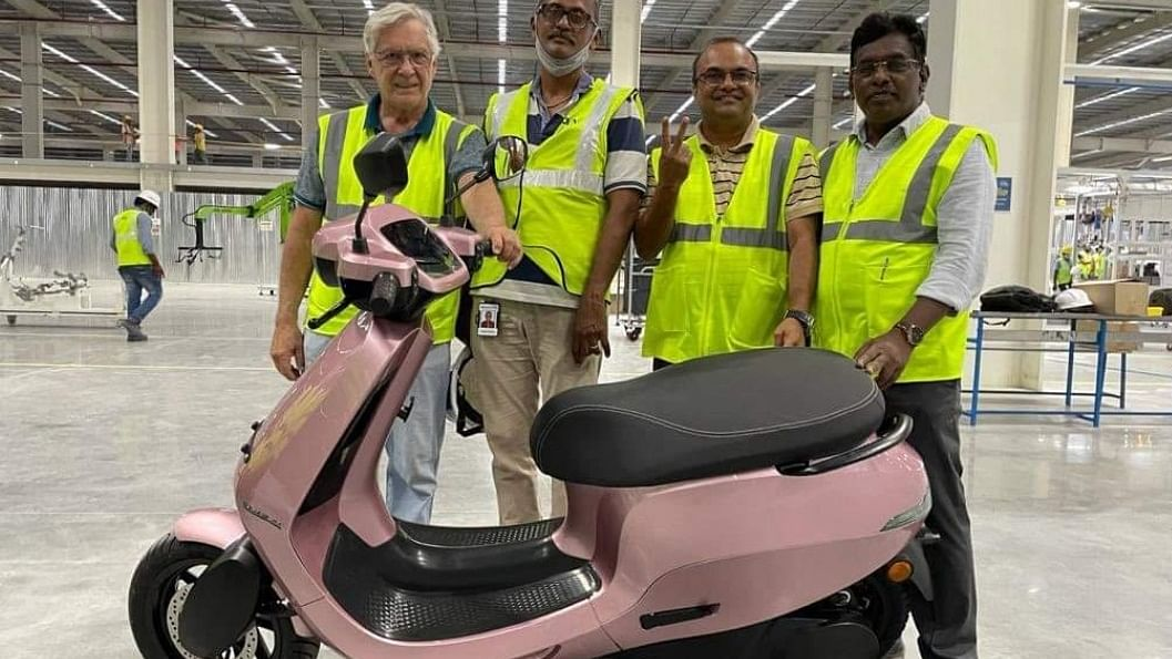 Ola Scooter Factory