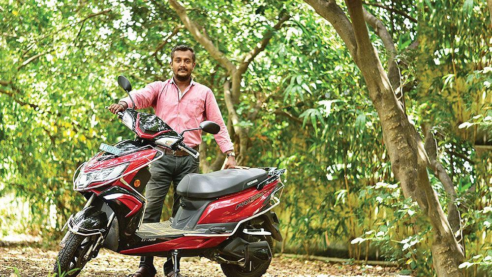 ஒகினாவா ப்ரெய்ஸ் ப்ரோ எலெக்ட்ரிக்