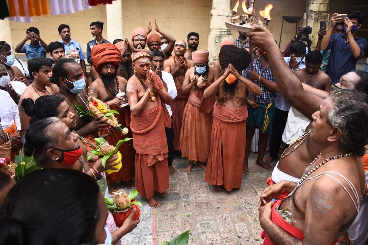 கும்பாபிஷேக தொடக்கவிழா
