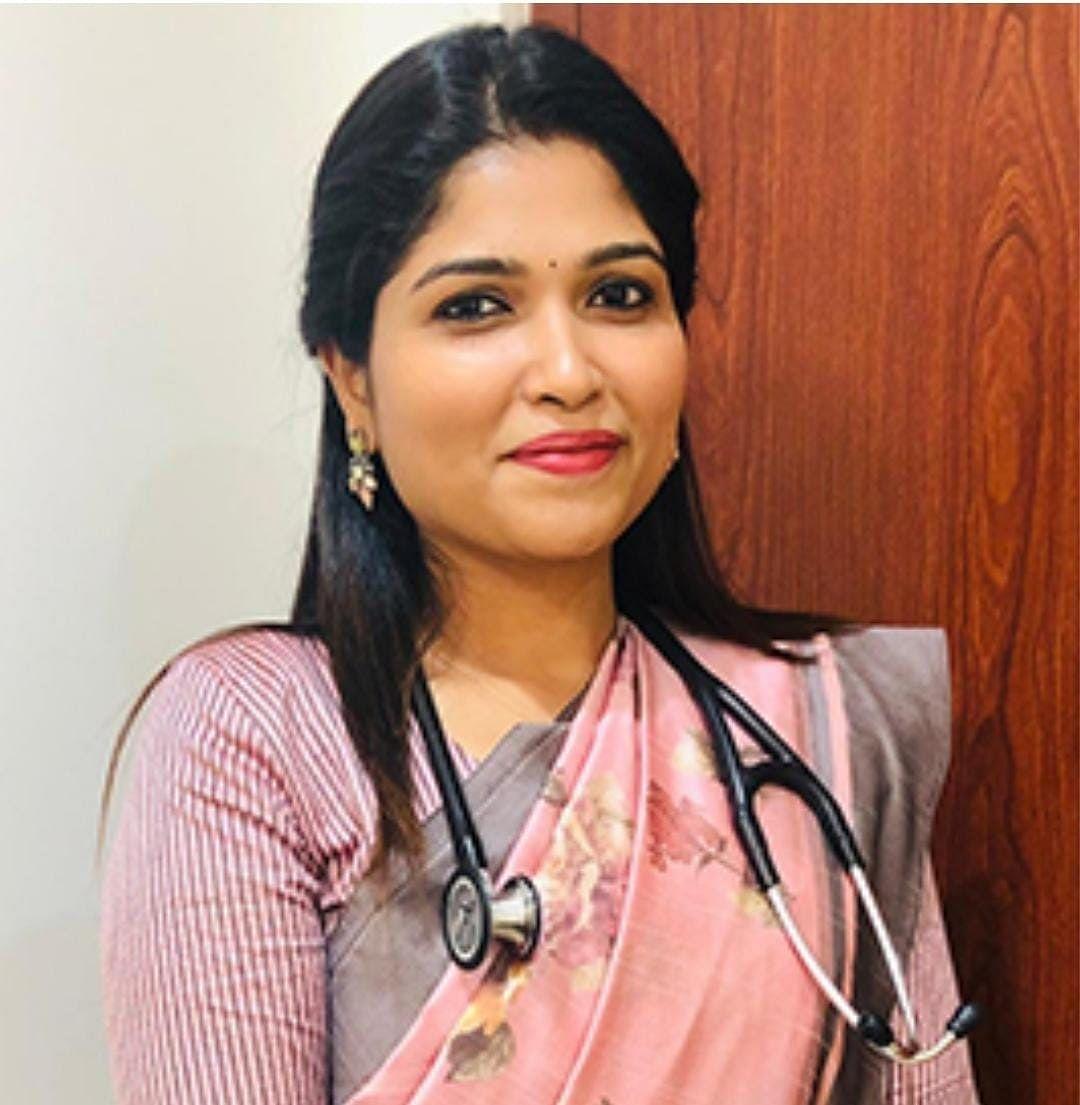 Pulmonologist Dr.Aishwarya