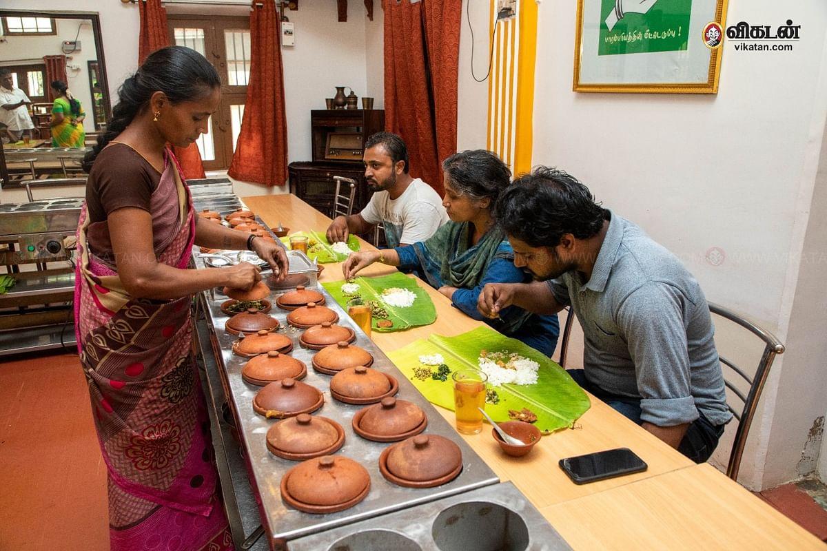 செல்லம்மாள் மெஸ் - மண் பானைச் சமையல்
