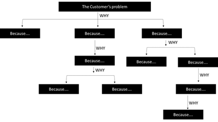 How a typical Multi Why Analysis Framework looks like