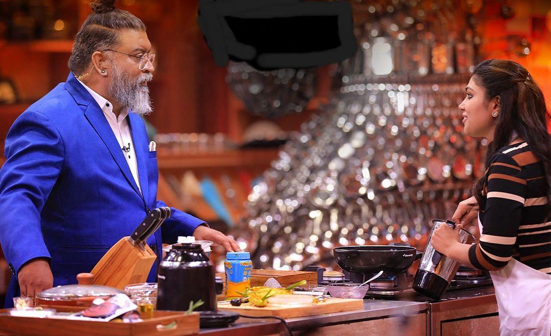 மாஸ்டர் செஃப் நடுவர் கெளஷிக்