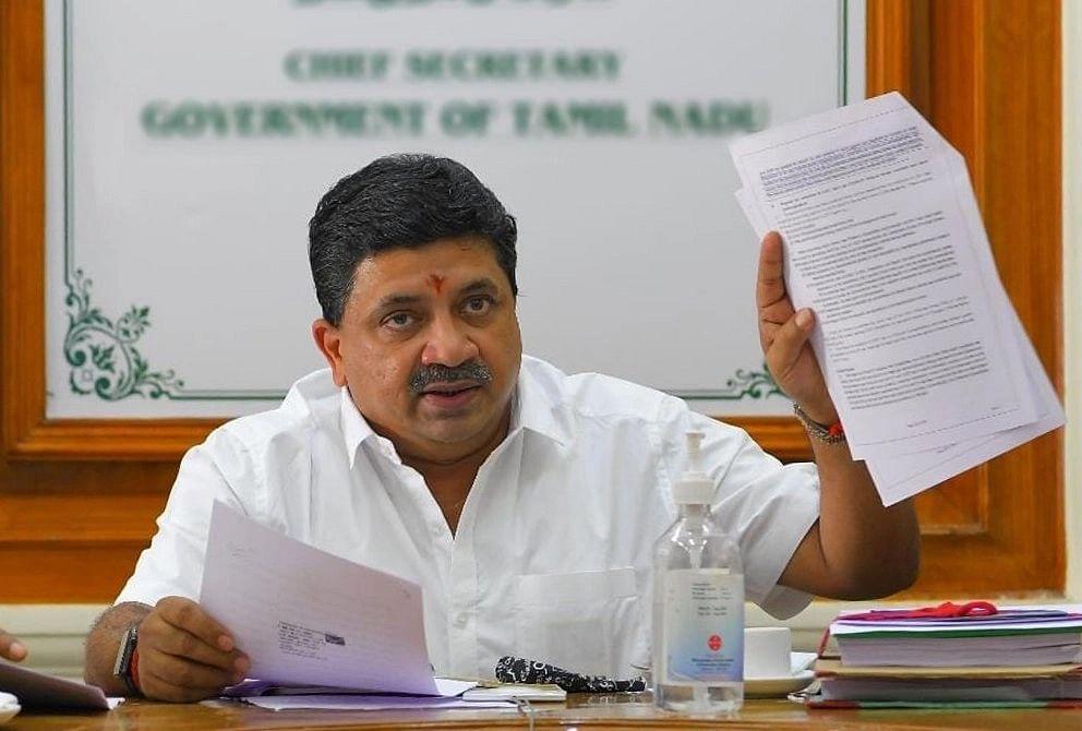 Minister PTR Palanivel Thiagarajan