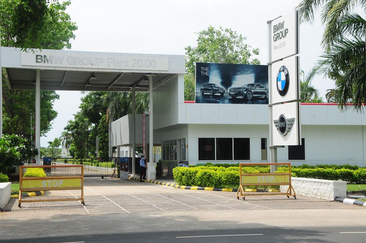 BMW கார் உற்பத்தி தொழிற்சாலை