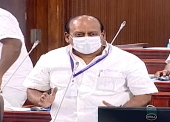 சட்டமன்றத்தில் அமைச்சர் தா.மோ.அன்பரசன்